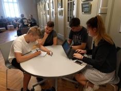 Nākotnes izaicinājumu nedēļa – skolēnu komandu apmācības