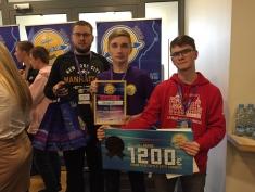 """Jau trešo gadu Liepājas Valsts 1.ģimnāzijas komanda piedalās konkursā """"Ventspils IT izaicinājums"""""""