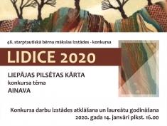 "Konkurss ""LIDICE 2020"""