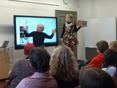 Literatūras stunda kopā ar Heli Lāksonenu un Guntaru Godiņu
