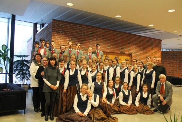Skolas Jauktā kora ceļojums uz Somiju