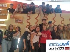 9.b klase atkal Rīgā