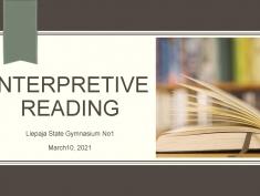 Izteiksmīgās lasīšanas konkurss angļu valodā pamatskolēniem