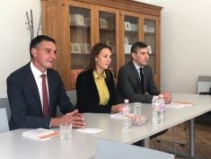 Tikšanās ģimnāzijā ar izglītības un zinātnes ministri Anitu Muižnieci
