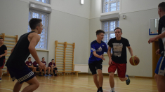 Skolas basketbola turnīrs 10. – 12.klasēm